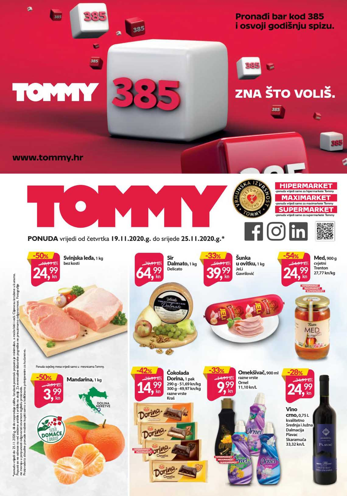 TOMMY KATALOG - SUPER PONUDA - AKCIJA SNIŽENJA DO 25.11.2020.