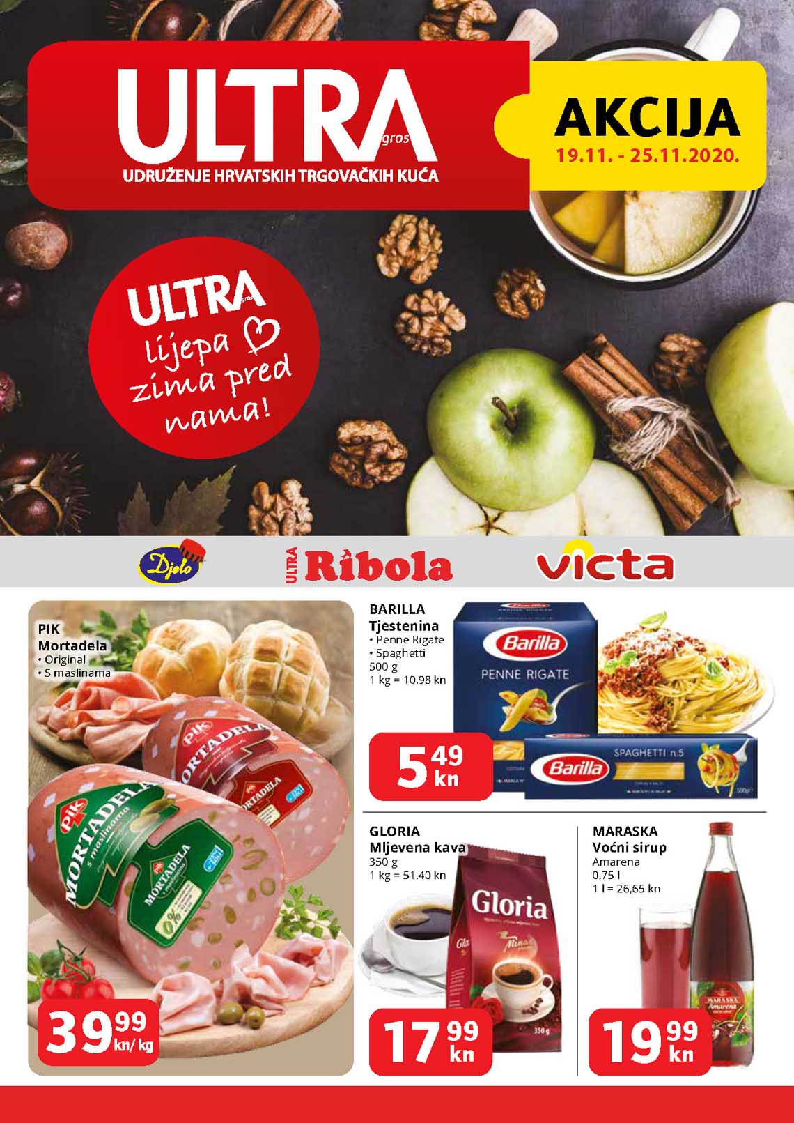 ULTRA - RIBOLA  KATALOG  - Akcija do 25.11.2020.