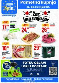 EUROSPIN KATALOG - SUPER SNIŽENJE -  Akcija sniženja do 28.04.2021.