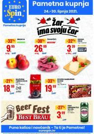 EUROSPIN KATALOG - SUPER SNIŽENJE -  Akcija sniženja do 30.06.2021.