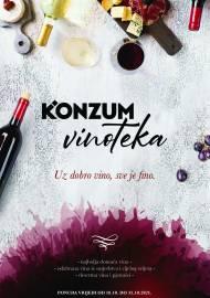 KONZUM VINOTEKA - Akcija do 31.10.2021.