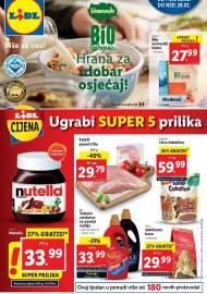 LIDL KATALOG - UGRABI SUPER 5 PRILIKA - Sniženje do 28.02.2021. godine