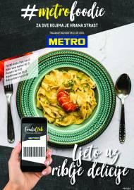 METRO AKCIJA -METROFOODIE - PREHRANA - Akcija do 21.07.2021.