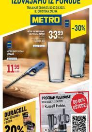 METRO AKCIJA - NEPREHRANA! -  ZA CENTRE RIJEKA,ZADAR, SPLIT, OSIJEK i VARAŽDIN Akcija do 17.03.2021.