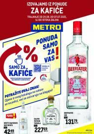 METRO AKCIJA -IZDVAJAMO IZ PONUDE ZA KAFIĆE - Akcija do 07.07.2021.