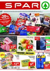 SPAR KATALOG - Ponuda prehrambenih namirnica, kozmetike, sredstava za čišćenje vrijedi do 21.09.2020. Ponuda kućanstva, tekstila, tehnike vrijedi do 28.09.2021