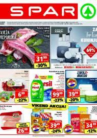 SPAR KATALOG - Ponuda prehrambenih namirnica, kozmetike, sredstava za čišćenje vrijedi do 03.08.2020. Ponuda kućanstva, tekstila, tehnike vrijedi do 10.08.2021
