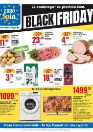 EUROSPIN KATALOG - BLACK FRIDAY - SUPER SNIŽENJE -  Akcija sniženja do 02.12.2020.