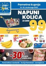 EUROSPIN KATALOG - SUPER SNIŽENJE -  Akcija sniženja do 25.11.2020.
