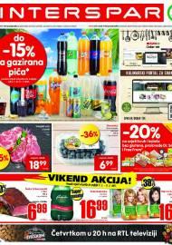 INTERSPAR KATALOG - Ponuda prehrambenih namirnica, kozmetike, sredstava za čišćenje vrijedi do 27.07.2020. Ponuda kućanstva, tekstila, tehnike vrijedi do 03.08.2021