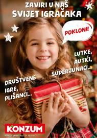 KONZUM KATALOG  - ZAVIRI U NAŠ SVIJET IGRAČAKA AKCIJA DO 31.12.2020.