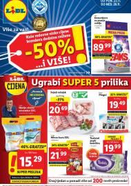 LIDL KATALOG - AKCIJA SNIŽENJA - UGRABI SUPER 5 PRILIKA - Sniženje do 29.11.2020. godine