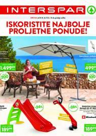 INTERSPAR - ISKORISTITE NAJBOLJE PROLJETNE PONUDE - AKCIJA DO 11.05.2021