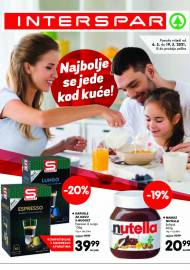 INTERSPAR - NAJBOLJE SE JEDE KOD KUĆE - AKCIJA DO 19.05.2021