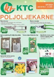KTC KATALOG POLJOLJEKARNE - Akcija sniženja do 03.03.2021. Godine