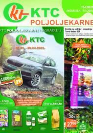 KTC KATALOG POLJOLJEKARNE - Akcija sniženja do 05.05.2021. Godine