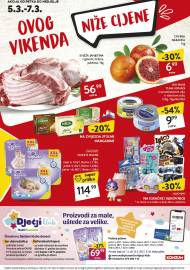 KONZUM VIKEND - Akcija do 07.03.2021.