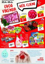 KONZUM VIKEND - Akcija do 25.04.2021.