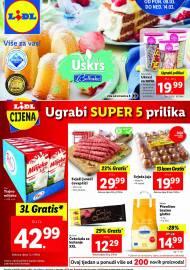 LIDL KATALOG - UGRABI SUPER 5 PRILIKA - Sniženje do 14.03.2021. godine