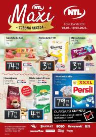 NTL MAXI SNIŽENJA -KATALOG AKCIJA DO 10.03.2021.