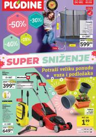 PLODINE  KATALOG -  SUPER SNIŽENJE -  Akcija sniženja do 03.03.2021.