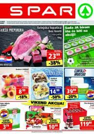 SPAR KATALOG - Ponuda prehrambenih namirnica, kozmetike, sredstava za čišćenje vrijedi do 22.06.2020. Ponuda kućanstva, tekstila, tehnike vrijedi do 29.06.2021