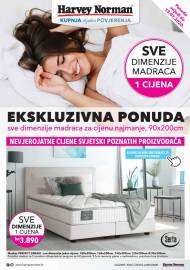 HARVEY NORMAN - EKSKLUZIVNA PONUDA MADRACA - Akcija sniženja do 13.07.2020.