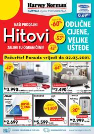 HARVEY NORMAN - NAŠI PRODAJNI HITOVI - AKCIJA SNIŽENJA DO 02.03.2021.