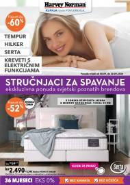 HARVEY NORMAN  - STRUČNJACI ZA SPAVANJE - Akcija sniženja do 30.09.2020.