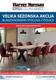 HARVEY NORMAN  - Velika sezonska akcija blagovaonskih stolova i stolica