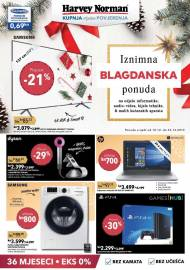 HARVEY NORMAN AKCIJA - IZNIMNA BLAGDANSKA PONUDA -  Akcija do 23.12.2019.