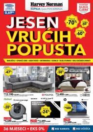 HARVEY NORMAN AKCIJA - JESEN VRUĆIH POPUSTA - KUPNJA BEZ BRIGE -  Akcija do 28.11.2019.
