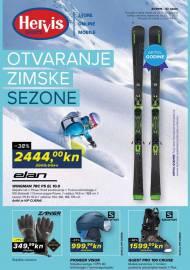 HERVIS KATALOG - OTVARANJE ZIMSKE SEZONE -Akcija vrijedi do 25.11.2019.
