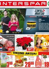 INTERSPAR KATALOG - Ponuda prehrambenih namirnica, kozmetike, sredstava za čišćenje vrijedi do 17.11.2020. Ponuda kućanstva, tekstila, tehnike vrijedi do 24.11.2020