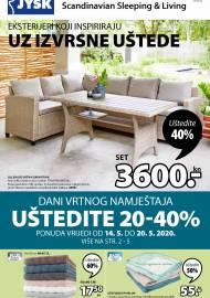 Jysk ponuda - JYSK Katalog - Super akcija od 14.05. DO 27.05.2020.