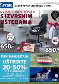 Jysk ponuda - JYSK Katalog - Super akcija od 05.12. DO 18.12.2019.
