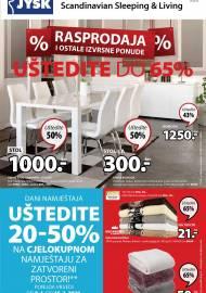 Jysk ponuda - JYSK Katalog - Super akcija od 09.01. DO 22.01.2020.