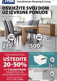 Jysk ponuda - JYSK Katalog - Super akcija od 13.02. DO 26.02.2020