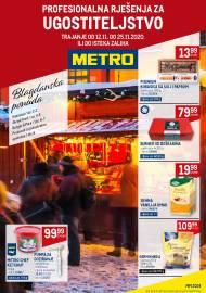 METRO AKCIJA -PROFESIONALNA RJEŠENJA ZA UGOSTITELJSTVO - Akcija do 25.11.2020.