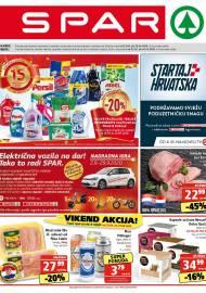SPAR KATALOG - Ponuda prehrambenih namirnica, kozmetike, sredstava za čišćenje vrijedi do 29.09.2020. Ponuda kućanstva, tekstila, tehnike vrijedi do 06.10.2020