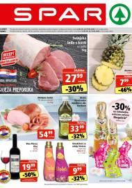 SPAR KATALOG - Ponuda prehrambenih namirnica, kozmetike, sredstava za čišćenje vrijedi 07.04.2020. Ponuda kućanstva, tekstila, tehnike vrijedi do 14.04.2020