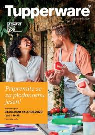 TUPPERWARE Katalog - Pripremite se za plodonosnu jesen! - Akcija sniženja do 27.09.2020.