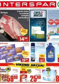 INTERSPAR KATALOG - Ponuda prehrambenih namirnica, kozmetike, sredstava za čišćenje vrijedi do 19.01.2020. Ponuda kućanstva, tekstila, tehnike vrijedi do 26.01.2021