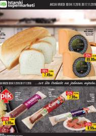 ISTARSKI SUPERMARKETI KATALOG - Akcija do 17.11.2019.