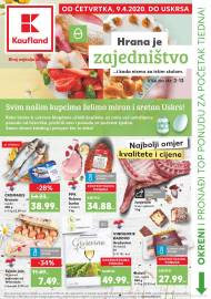 KAUFLAND KATALOG - HRANA JE ZAJEDNIŠTVO - Akcija do 12.04.2020.