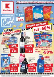 KAUFLAND KATALOG - PROGRAM VJERNOSTI! - Akcija do 28.10.2020.