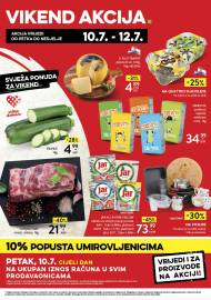 KONZUM VIKEND - Akcija do 12.07.2020.