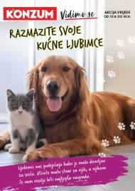 KONZUM KATALOG - RAZMAZITE SVOJE KUĆNE LJUBIMCE  - Akcija do 30.09.2020.