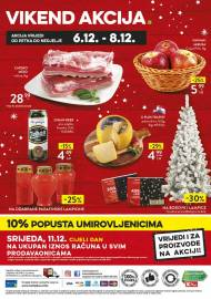 KONZUM VIKEND - Akcija do 08.12.2019.