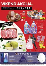 KONZUM VIKEND - Akcija do 23.02.2020.